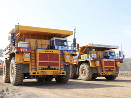 אזור ניסוי 5G נפרס לראשונה במכרה הפתוח של חברת הפחם SUEK בחאקאסיה.