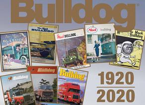מגזין בולדוג של מק משאיות חוגג 100 שנים.
