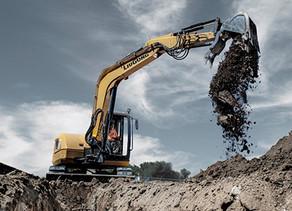 ליגונג (LiuGong) הציגה מיני מחפר 9 טון חדש, 909ECR.