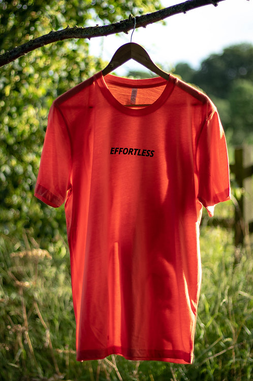 Strong Logo Coral T-Shirt