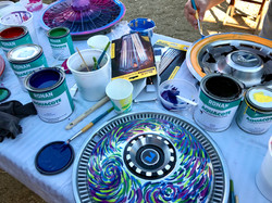 paints and hubcaps