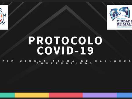 PROTOCOLO COVID-19. CIUDAD PALMA DE MALLORCA