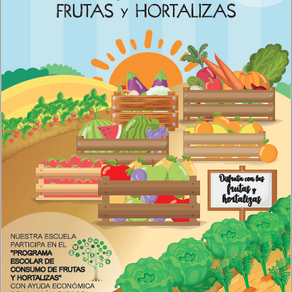 HÁBITOS DE VIDA SALUDABLE. REPARTO DE FRUTA
