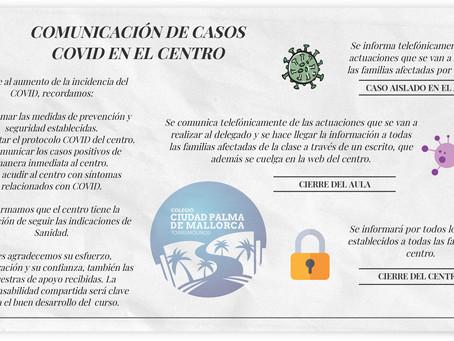 COMUNICACIÓN CASOS COVID