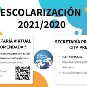 ESCOLARIZACIÓN 2021.2020