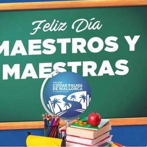27 de noviembre. Día del maestro.