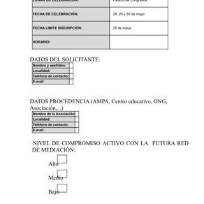 AYTO. TORREMOLINOS. CURSO DE MEDIADOR COMUNITARIO