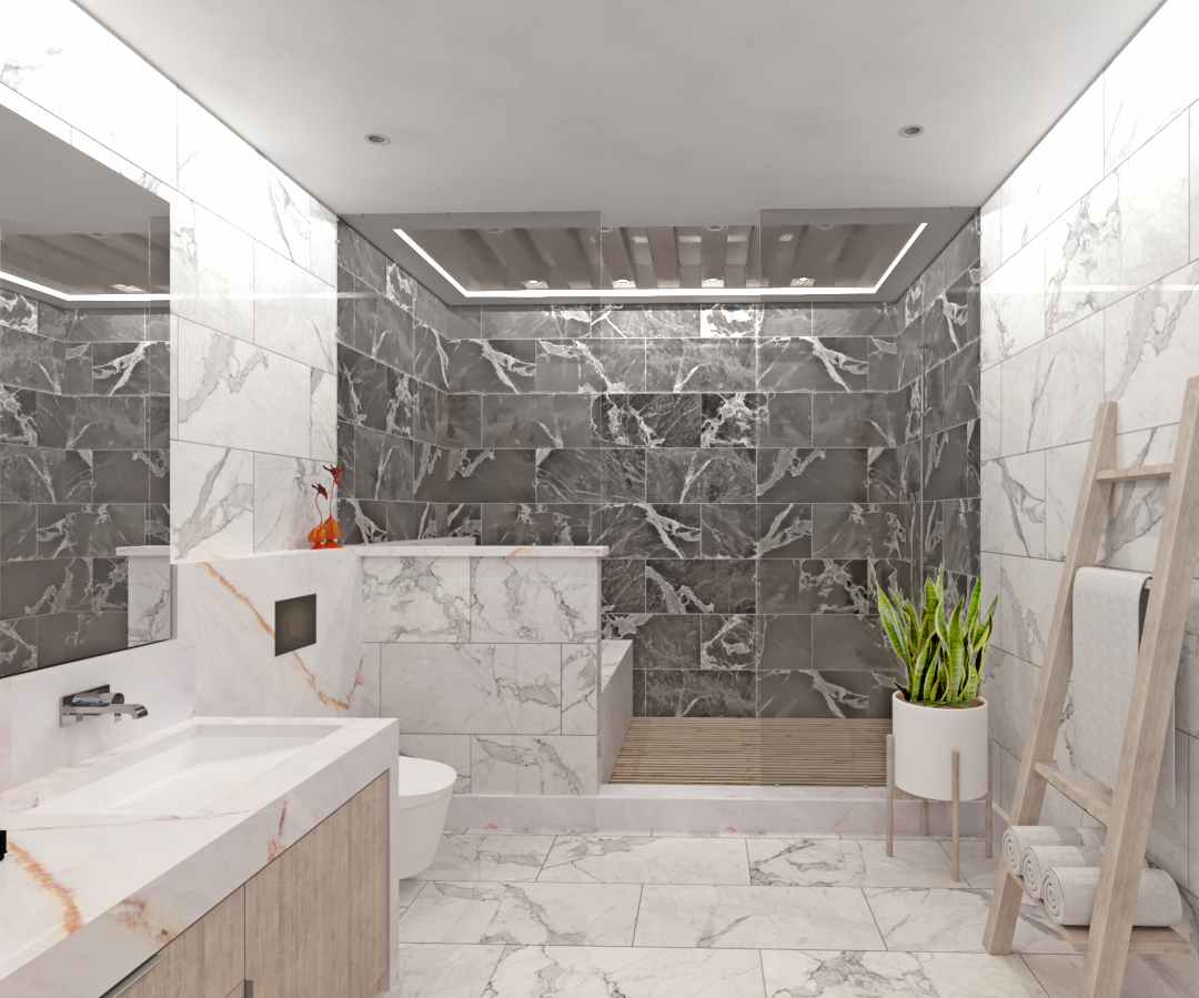 California Banyo Tasarımı