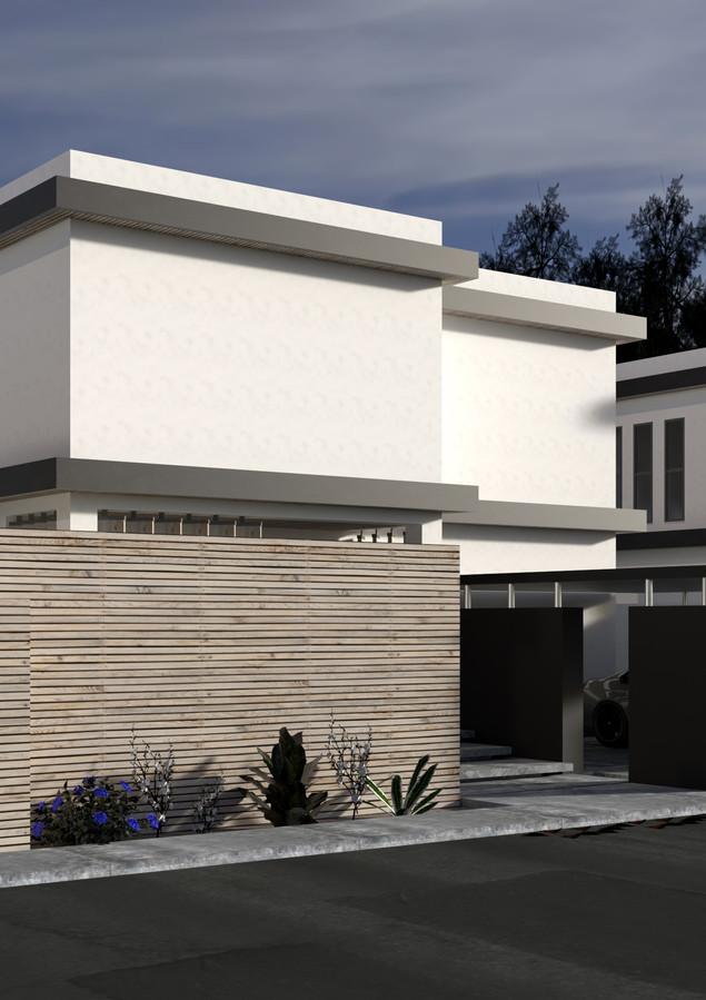Villa Sitesi Taslak Proje - Kıbrıs