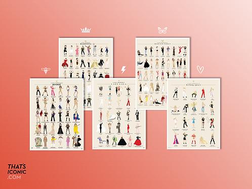 Full Compendium Collection: 5 Poster Set