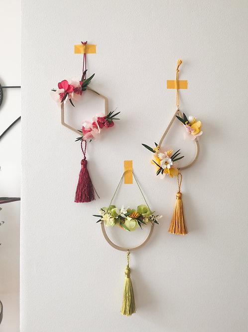 XIAO - Mini suspension en fleurs séchées