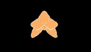 Il s'agit du logo d'Haïlane, une orchidée graphique de couleur orange