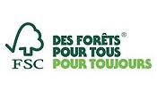 logo fsc, label environnemental de protection des forêts