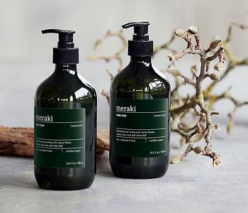 Jabón orgánico hecho en Dinamarca