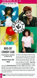 Bois-Co' Comedy Club