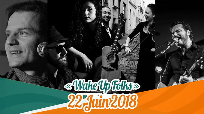 Wake Up Folks : Premier Festival à Bois-Colombes !