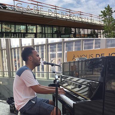 Inauguration du Piano en Gare de Bécon-les-Buyères !