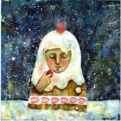 原画「ショートケーキ」
