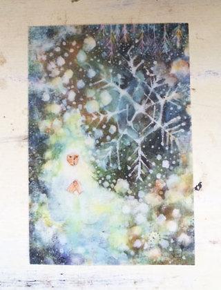 tracing postcard「氷の精」