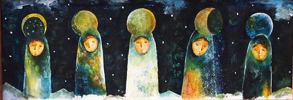 postcard「moons」