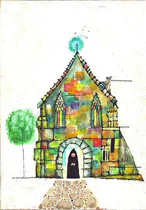 postcard「言葉の教会」