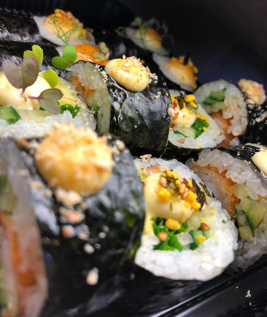 Sushi - Fajná Rybka (sushi bar a donáška Poprad)