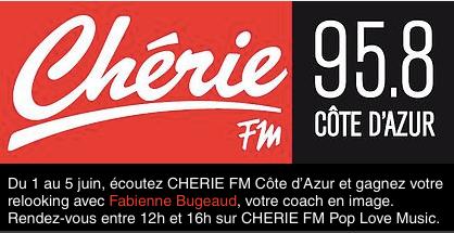 Relooking en images de la 1ère gagnante du jeu CHERIE FM Côte d'Azur