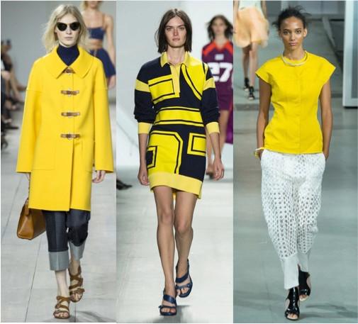 Le jaune, couleur tendance printemps-été 2015, comment le porter ?