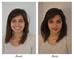 Avant/Après une leçon d'auto-maquillage