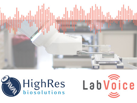 HighRes Biosolutions & LabVoice Announce Integration to Voice-Enable Automation Systems
