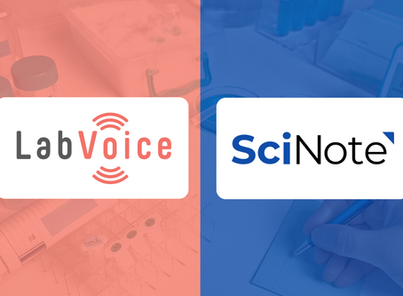 LabVoice & SciNote Announce Strategic Partnership