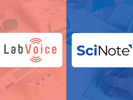 LabVoice & SciNote Announce Strategic Partnership