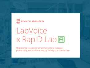 Hands-Free Animal Measurements with RapID Tags & LabVoice
