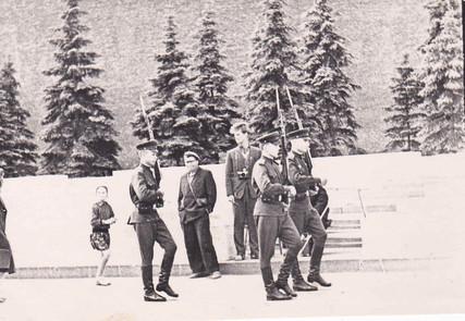 Военнослужащие Отдельного полка специального назначения КГБ при СМ СССР. Москва, 1961 г.