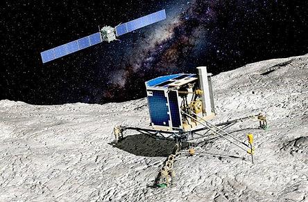 36. Космический аппарат Розетта и спуска