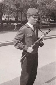 Часовой Поста №1 г. Волгограда на Аллее Героев Май, 1970 г.