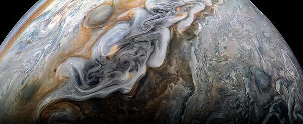 48. Снисок Юпитера с космического аппара