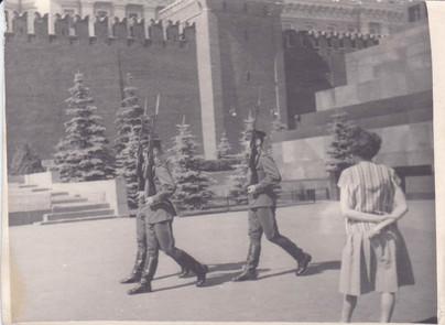 Военнослужащие Отдельного полка специального назначения КГБ при СМ СССР. Москва, 1960-е гг.