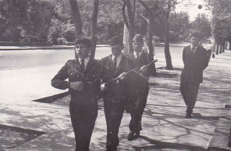 Отряд Почетного караула Поста №1 г. Волгограда Май, 1970 г.