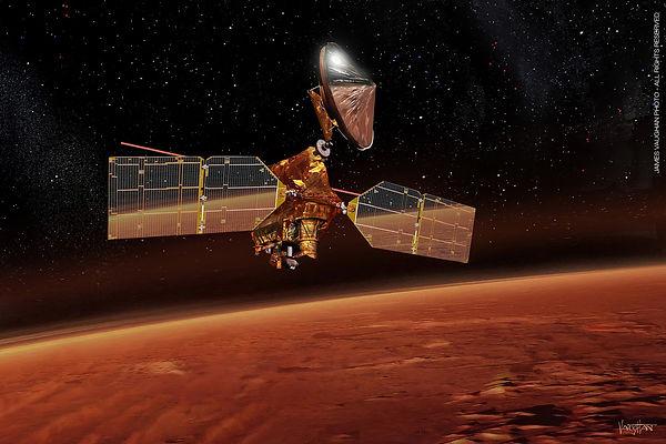 16. Марсианский разведываетльный спутник