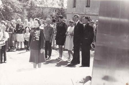 Дружинный сбор в пионерском лагере «Орленок» в день 30-летия начала Великой Отечественной войны 22 июня 1971 г.