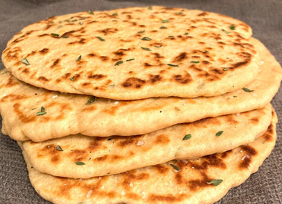 Turkish Flat Breads --- (4 pack)
