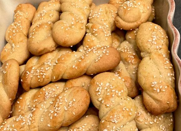 Koulourakia Cookies (per 1/2 lb)