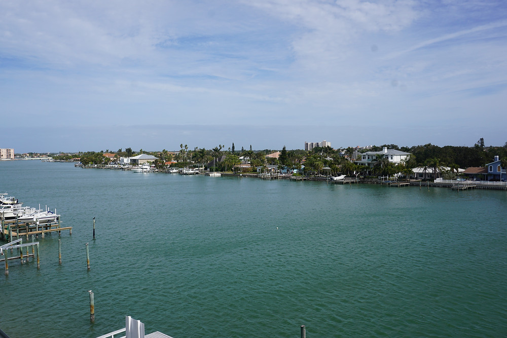 View from Unit 403.  Minutes to the Gulf of Mexico by boat or walk right across the street.