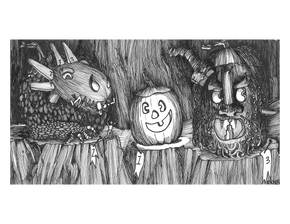 The Goblins' Scariest Jack- o'-lantern Contest