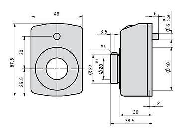 Linpotek Mekanik sayıcı OB20