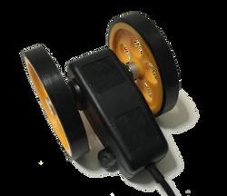 Tekerlekli optik enkoder kasnak manivela yaylı kollu aparat