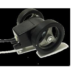 Tekerlekli enkoder kasnak manivela yaylı baskı kollu encoder