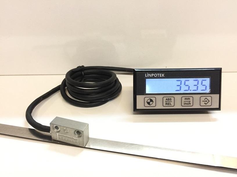 Manyetik sensör dijital pozisyon göstergesi