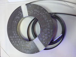 Magnetic linear multi pole band